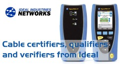 Ideal Industries LAN cable testers
